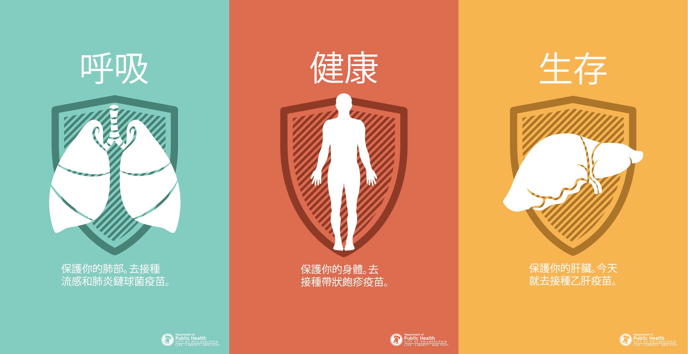 Chinese Vaccine Posters