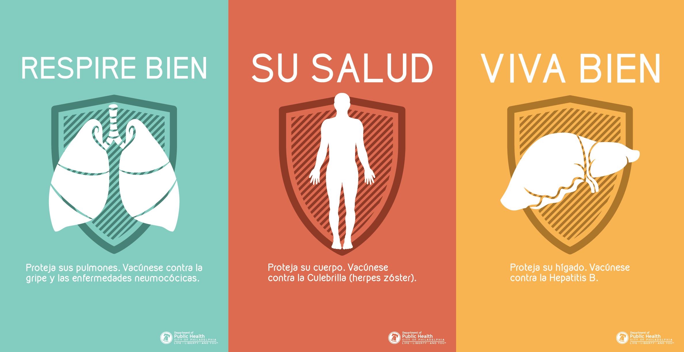 Spanish Vaccine Posters