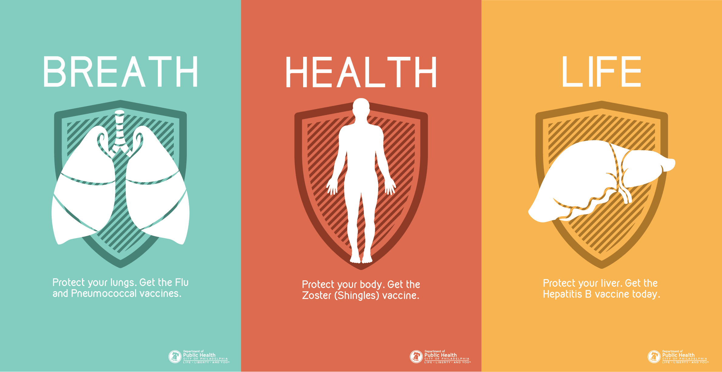 English Vaccine Posters