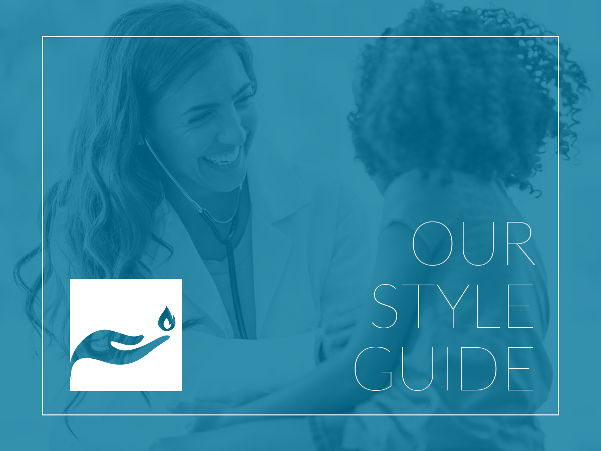 Nurse-Led Care Style Guide