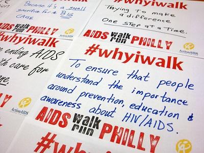 """Why I Walk"" Social Media Campaign"