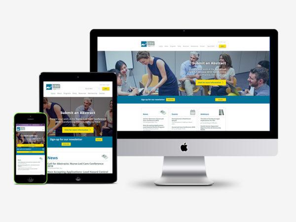 Nurse-Led Care Website Redesign