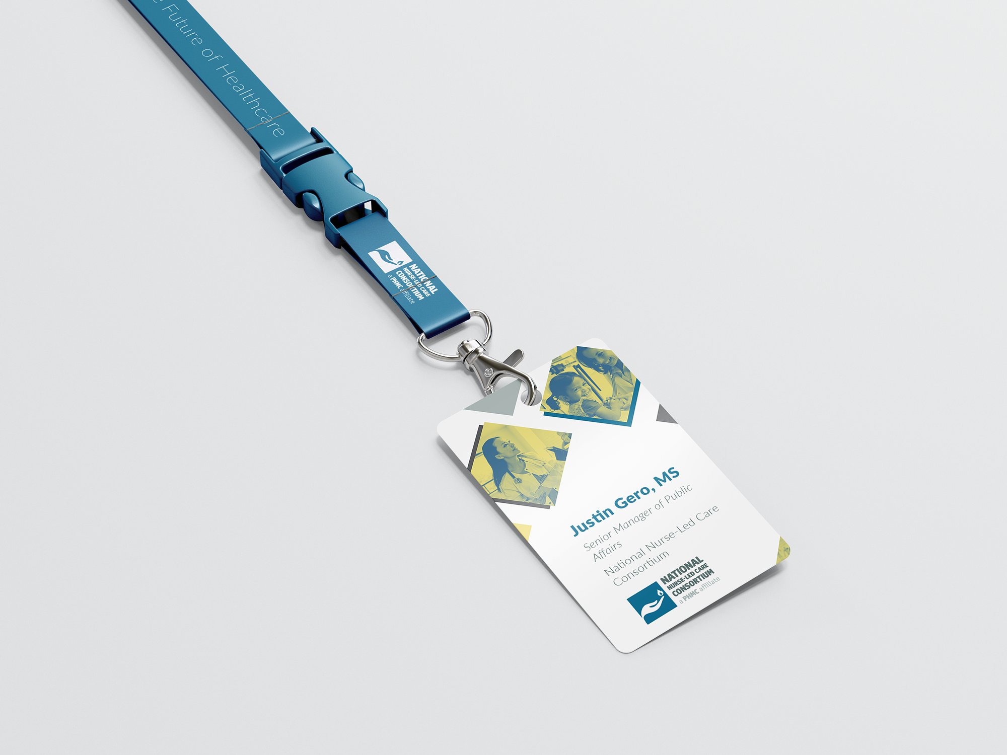 Conference Lanyard and ID Badge